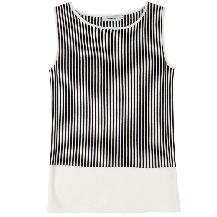 Arelalizza striped shell top