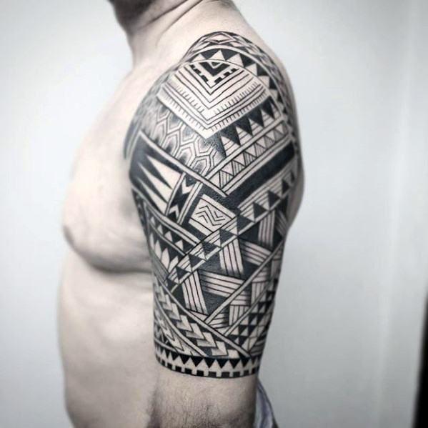 Top 53 Badass Tribal Tattoo Ideas 2020 Inspiration Guide Tattoos For Guys Tribal Tattoos For Men Tribal Tattoos