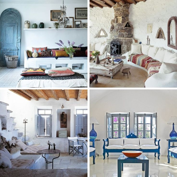 115 best images about greek inspired beach house on for Beach inspired interiors