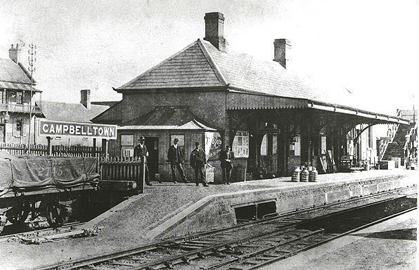 Railway Station - Campbelltown | Flickr - Photo Sharing!