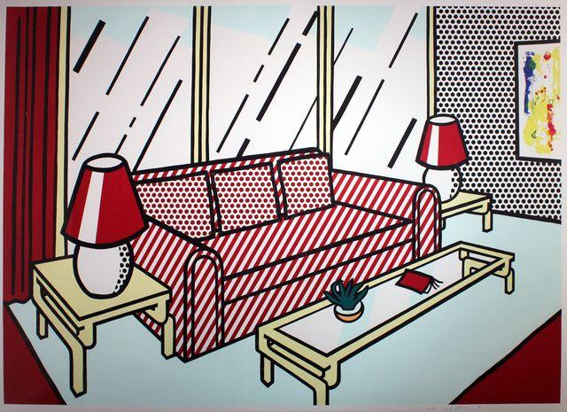 roy-lichtenstein- red-lamps