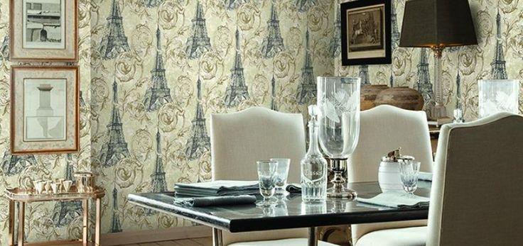 Luksusowa propozycja tapet amerykańskiego producenta STUDIO 465 z kolekcji PARIS. Często przewijające się motywy kwiatowe, luksusowego adamaszku, szkiców miejskich, zabytkowych map czy wydruków zapewnią kolekcji PARIS niezapomnianą i niepowtarzalną atmosferę Paryża. Unikalne kolory sprawiają że tapeta jest godna najmodniejszych wnętrz zarówno w nowoczesnym jak i klasycznym stylu. Inne tapety z tej kolekcji można zobaczyć tutaj: http://innetapety.pl/paris