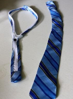 Finally a zipper tie tutorial I have so many awesome ties I need to do this to