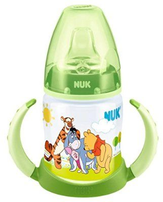 NUK Winnie the Pooh First Choice, 150ml Learner Bottle