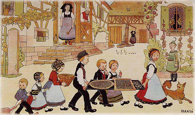 Magie du Noël alsacien, selon Hansi -- leçon n°3 - TOURISME - Le monde comme il…