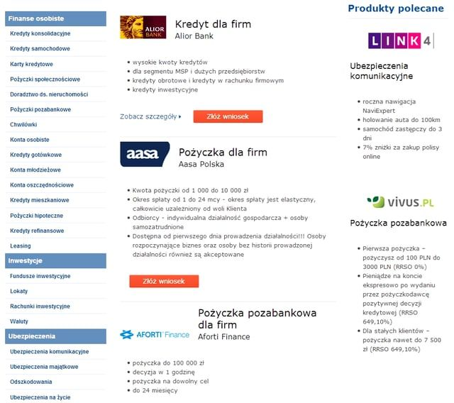 KREDYT DLA FIRM https://kubuszek.produktyfinansowe.pl/kredyty-dla-firm.html