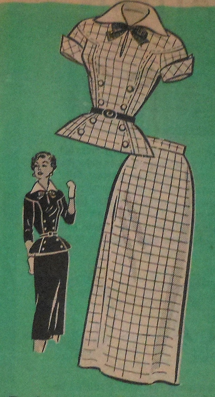 Summer dress patterns 1960s