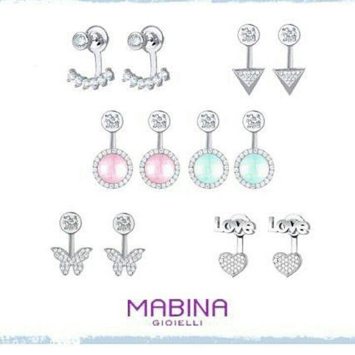 Orecchini in argento #Mabinagioielli