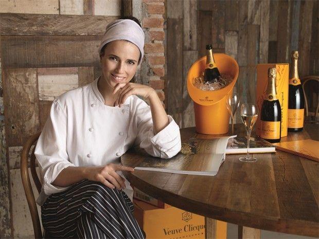 """Helena Rizzo é eleita melhor chef do mundo pelo prêmio Veuve Clicquot: """"Tomara que este prêmio faça que o mundo fique de olho no trabalho das cozinheiras e na gastronomia maravilhosa que temos no Brasil""""."""
