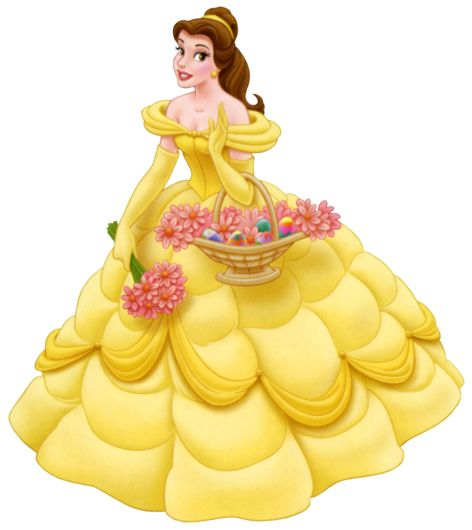 Disney Princess Belle | Beautifull Disney Princess Belle Wear Yellow ...