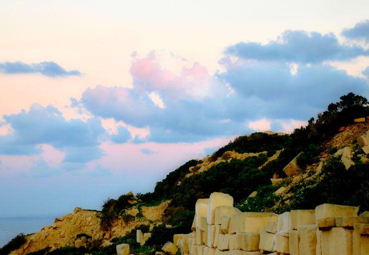 Way to Dwejra - December - Sunrise