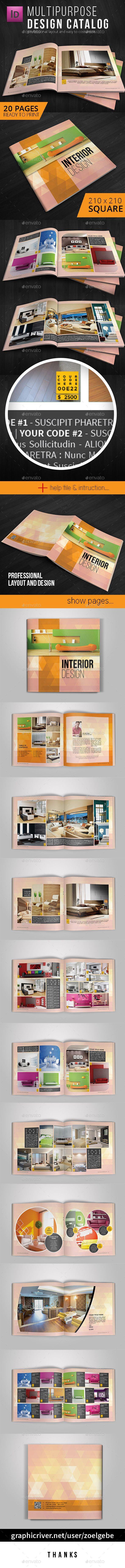 Square Modern Brochure / Catalog Template. Download: http://graphicriver.net/item/square-modern-brochure-catalog-template/11260922?ref=ksioks