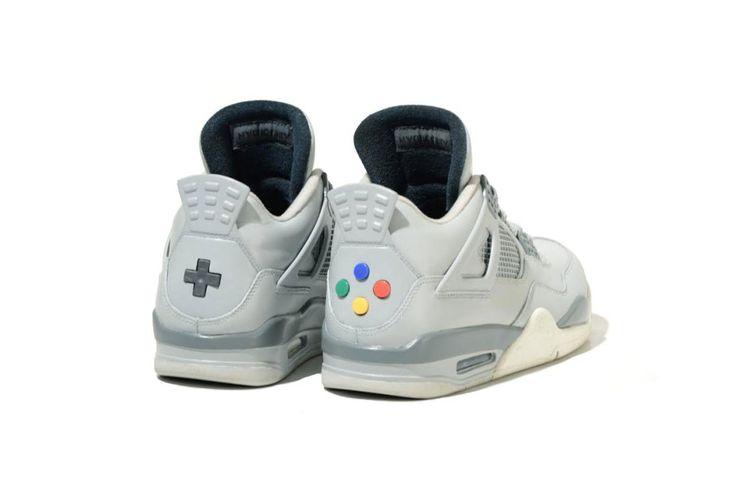 Jordan 4 Super Nintendo Custom