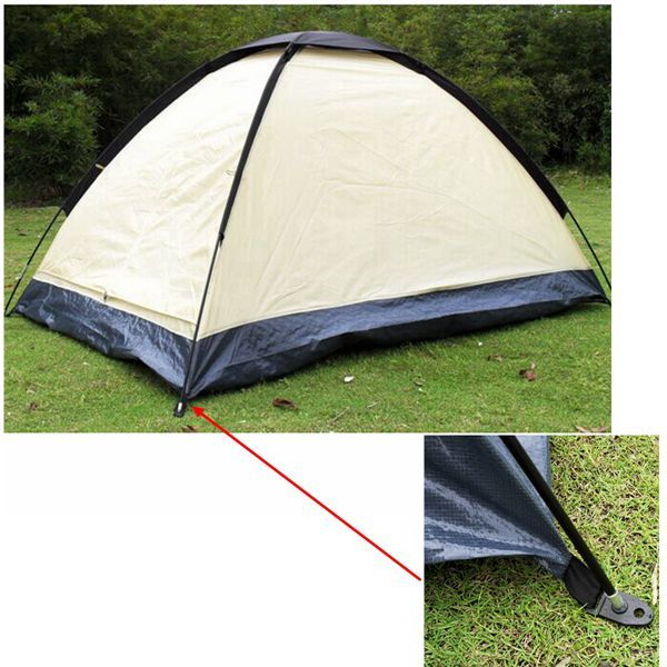 2 Person Camping Zelt Sonnenschirm Sun Shelter Wasserdichte UV Shade Lightweight Travel Outdoor