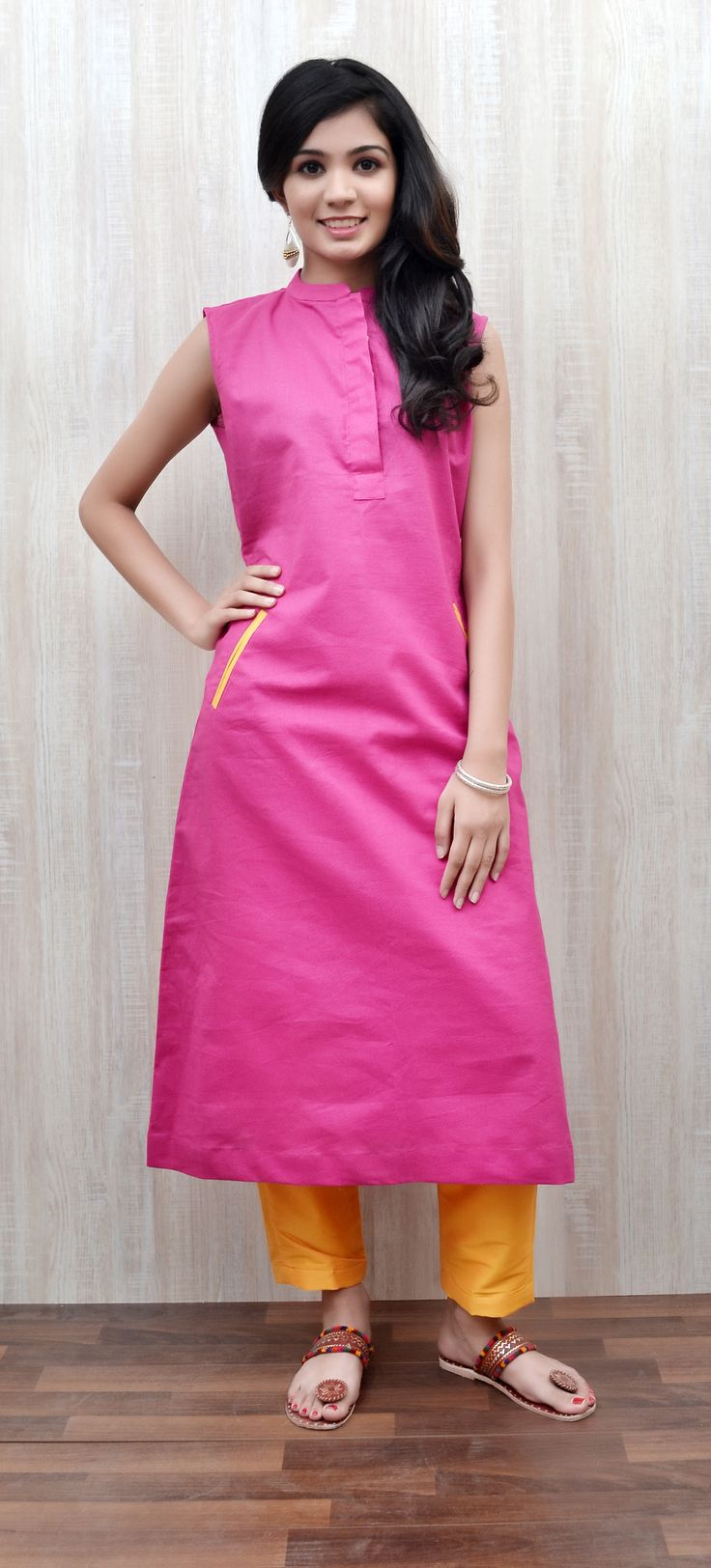 Zoyashi celebrates Friendships Day,take ideas what to gift your friend this Friendships Day! Gift your friend this beautiful Pink kurta.