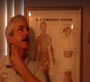 Dr. Mark demonstrating sinus drainage for allergy relief. Also a technique to help not have a sore throat or to hurry it up and get rid of it. This does increase your immune system function overall too. Posted by Mark Lynch on Wednesday, May 13, 2015