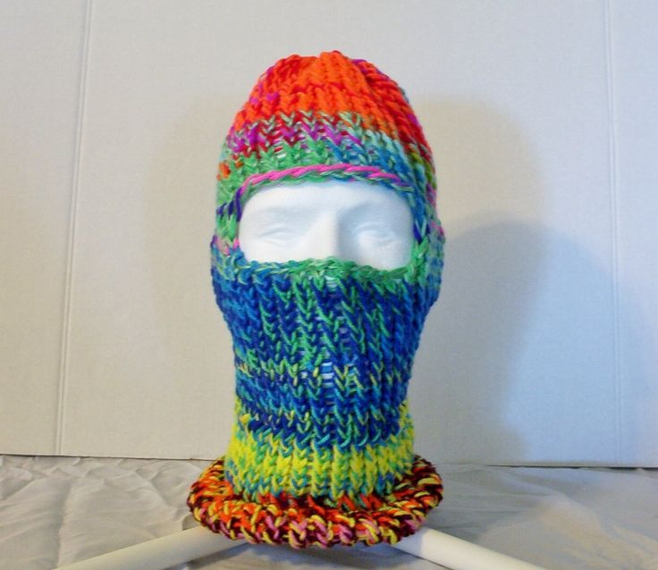 Balaclava Knitting Pattern Straight Needles : 1000+ ideas about Knitted Balaclava on Pinterest Wool, Hand Knitting and Kn...