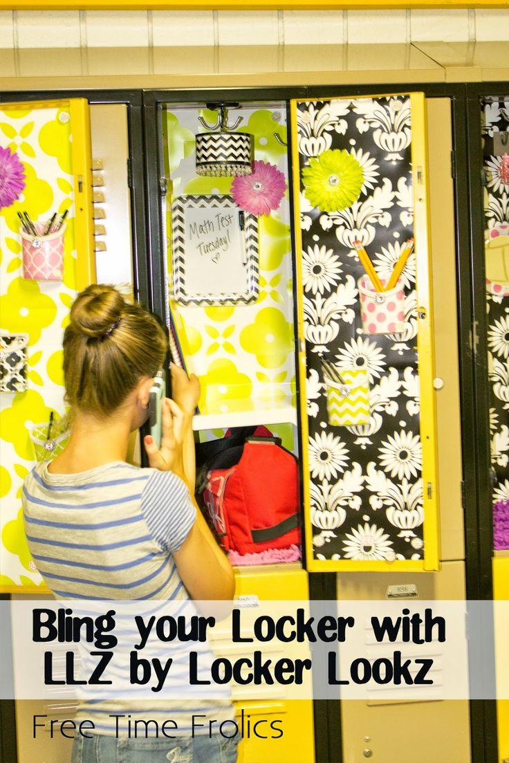 Free Time Frolics: Bling out your Locker with LLZ by Locker Lookz  #LLforJoAnn