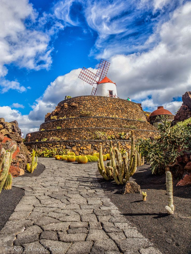 Jardin de Cactus. Lanzarote, Canary Islands