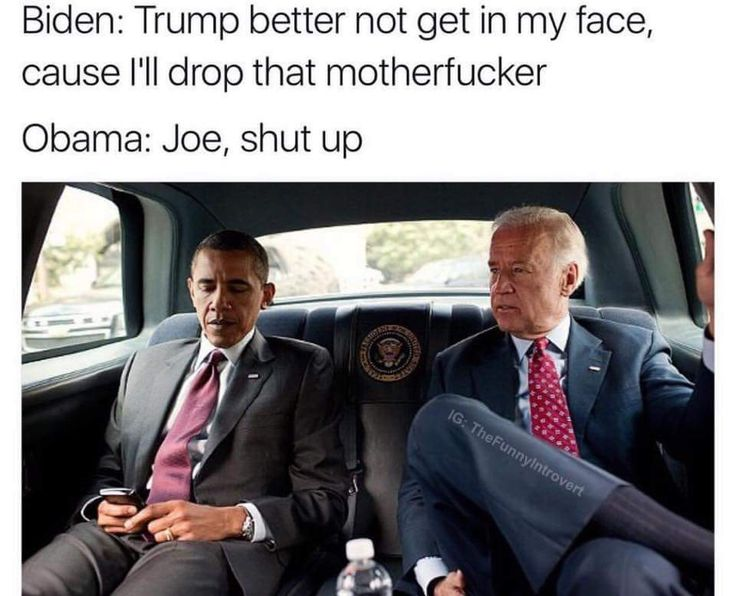The one thing I'll miss most about Obama's term is Biden memes - Album on Imgur