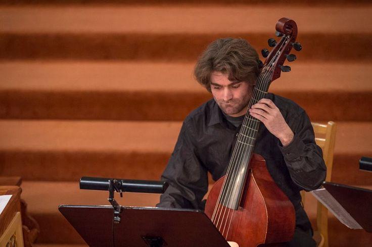 Jakub Michl - viola da gamba 2016