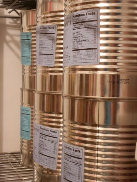 1000 Ideas About Food Storage Rooms On Pinterest Long