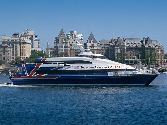 Take the Victoria Clipper to Victoria, B.C. for the weekend.