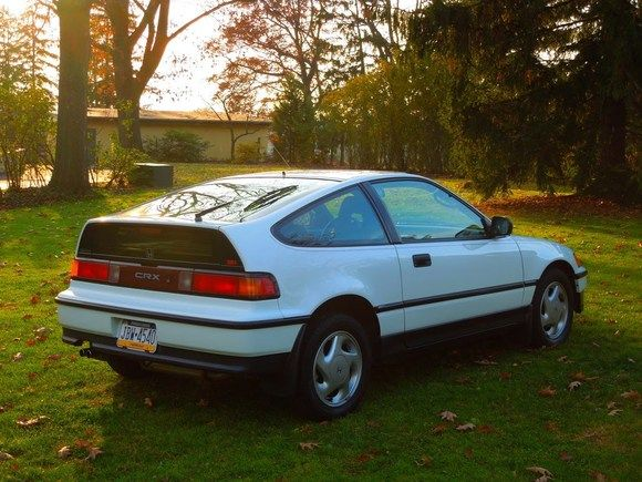 Honda CRX-SI,  1991- The last year they made these,