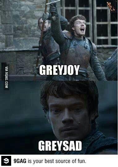Game of thrones funny humour Theon Greyjoy, Alfie Allen meme