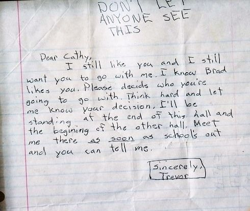 The letter from an 11-year-old who's patiently waiting for an answer.