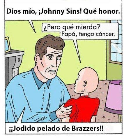 Dios mío, Johnny Sins