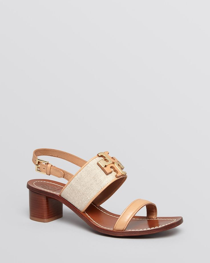 Tory Burch Slingback Platform Sandals - Lowell Logo from Bloomingdale's on  Catalog Spree