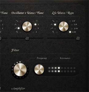 Prestige navigation knobs