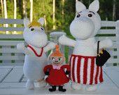 Moomin and Little My - 2 PDF crochet patterns