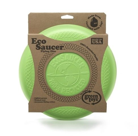 Green Toys - Eco Friendly Saucer Frisbee. Because every kid needs a frisbee! Elias loves being out doors (what kid doesn't!) and throws absolutely everything at the moment... hmmm. A frisbee would be very welcomed! #EntropyWishList #PinToWin