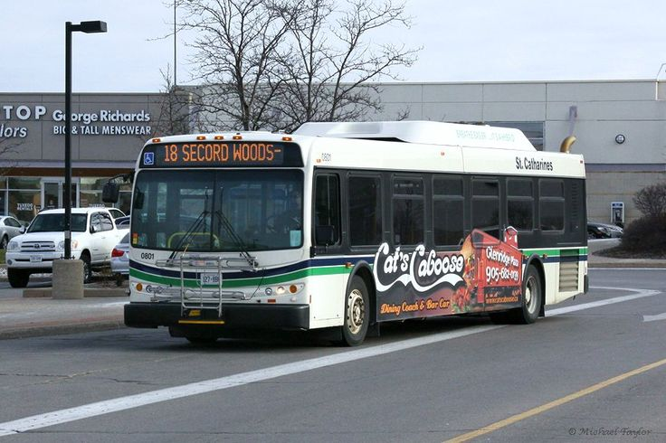 St. Catharines New Flyer  bus.