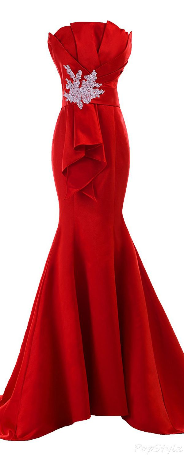 Love the lines - stiching is looks a bit iffy PRT~Sunvary 2015 Fancy Satin Sheath Mermaid Evening Gown jαɢlαdy