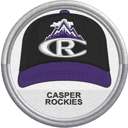 535916c724d Casper Rockies cap - hat - uniform - MiLB - PCL - Pioneer League - Minor  League Baseball - Created by Jackson Cage