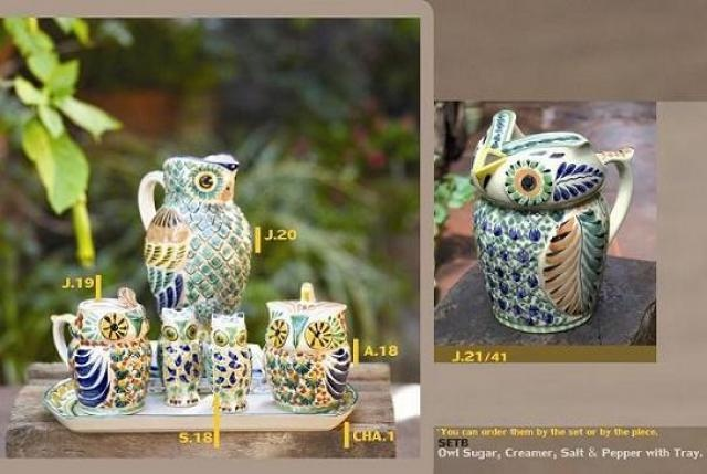 Charming Owl Pitcher