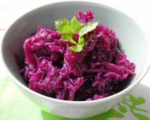 Red Cabbage  - Recipe for Red Cabbage  - Rode Kool Met Appeltjes Dutch recipe in English