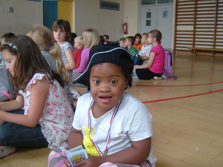 This lovely little girl suffers from down syndrome. She often attends our courses and loves getting involved in less intense versions of the activities.    Sports Xtra can accommodate for children with special needs - all children are made to feel involved!    www.sports-xtra.com    #sports #specialneeds #downsyndrome