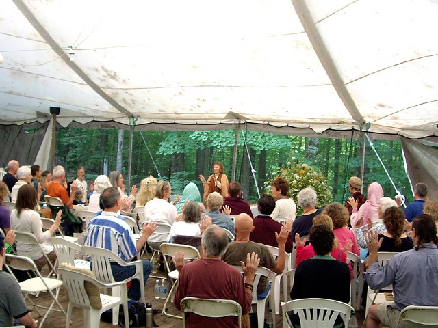 Aziza Scott at the 2011 SOI-NA Summer Gathering, at the Abode of the Message in New Lebanon, NY.