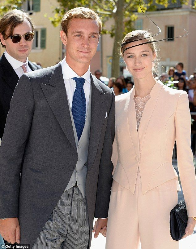 Monaco prince & wife welcome Grace Kelly's great-grandson | Daily Mail Online