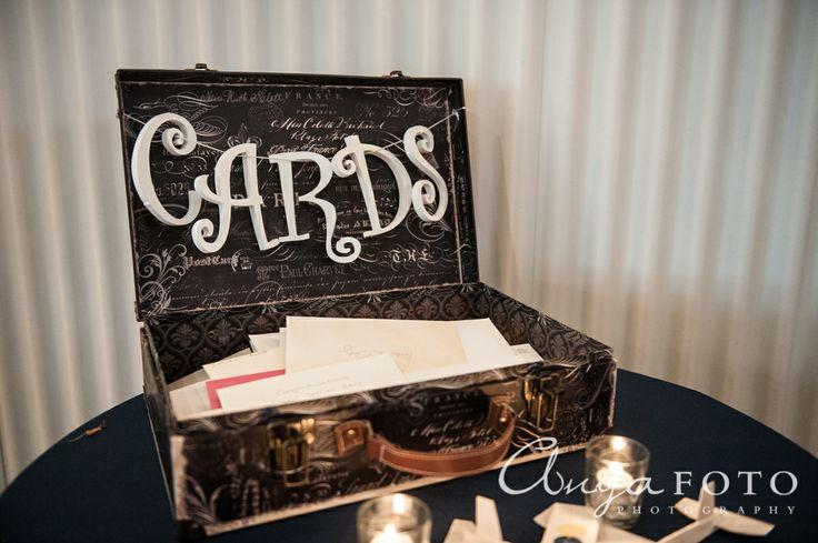 Wedding Gift Table anyafoto.com, #wedding, wedding gift box, wedding gift card box, black wedding card box, wedding card box ideas, wedding card box designs, suitcase wedding card box