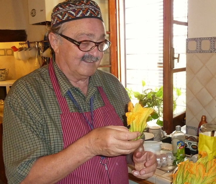 Ars Opulenta's 'Cooking in Chianti' chef/instructor and author of 'Tales from the Table', Antonio Alfani, interviewed by the excellent travel blog, Italian Reflections!