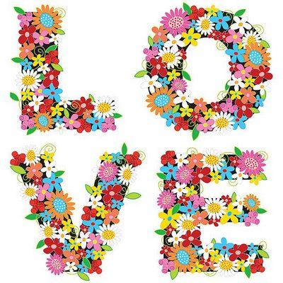 Love.  Or a spring craft for kids to cover their initial w/ foam flowers!  :)