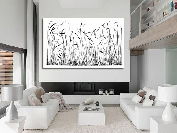 Reeds with silver Birds Glen Josselsohn Contemporary Art www.glenjosselsohn.com