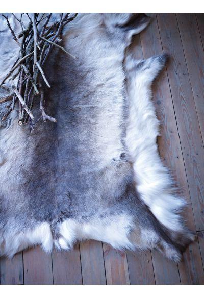 Hide rug