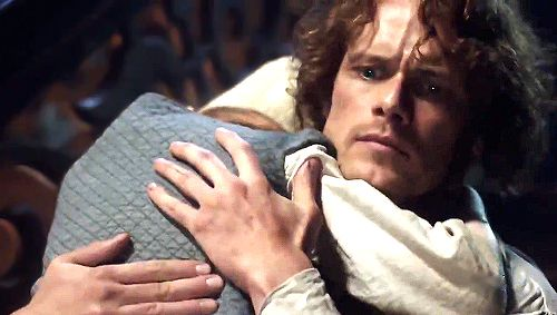 New Stills | Sam Heughan as James Fraser in Outlander Season 3 'Voyager'