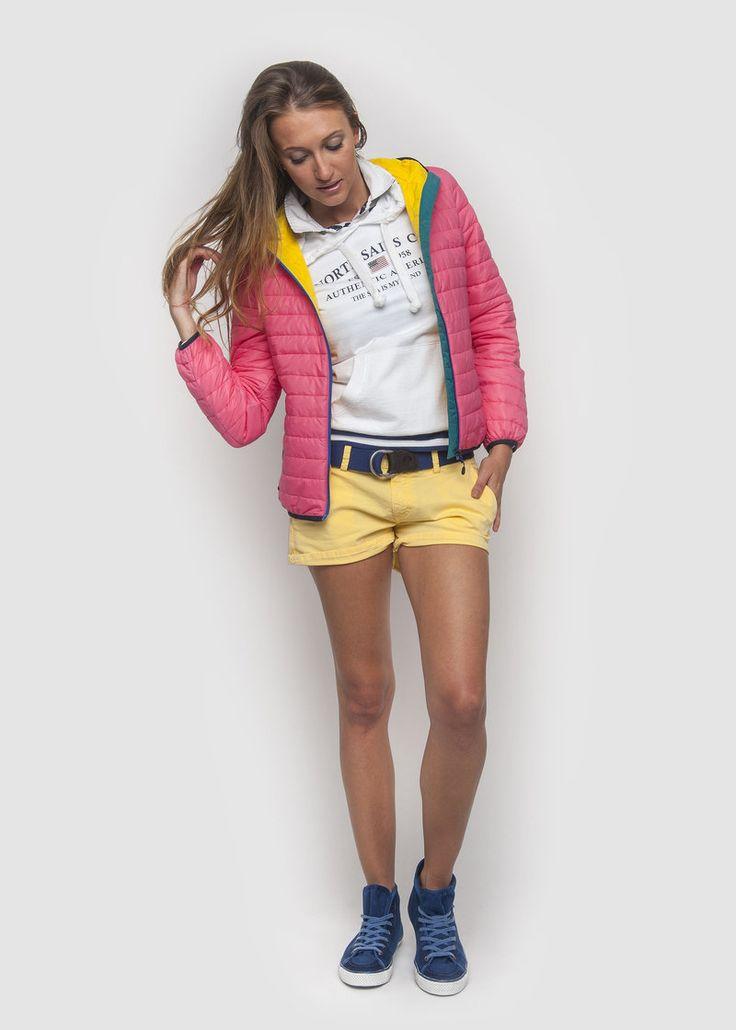 #NorthSails #collection #Spring #Summer #2014 #SS2014 #Woman #Jacket #deanne #sweatshirt #hooded #tshirt #polo #cora #shorts #collezione #giacca #felpa #cappuccio #collezione #primavera #estate